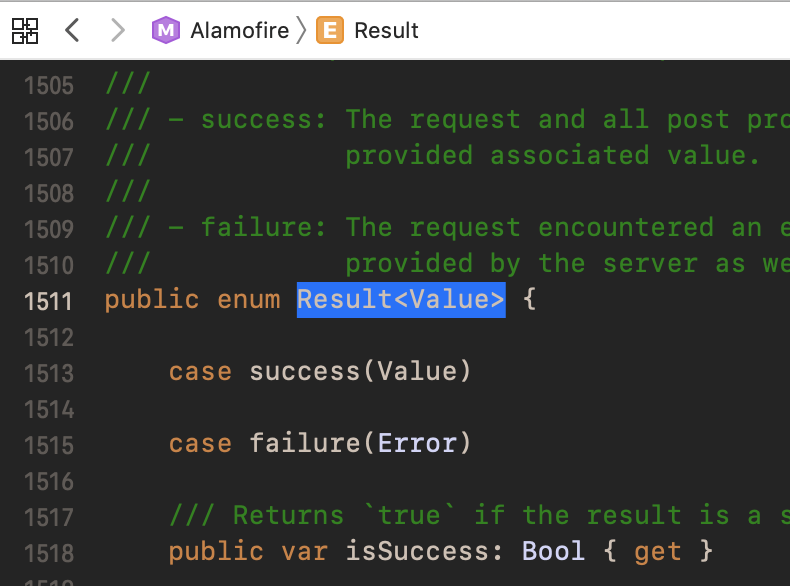 Using Swift 5 Result Type With Alamofire 4